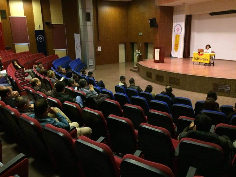 İYTE'de BES Bilgilendirme Toplantısı