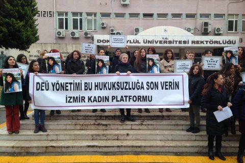 İzmir Kadın Platformu Dilek Karabulut için Açıklama Yaptı